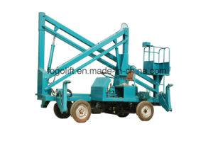 15 Meters Self Propelled Articulated Boom Lift pictures & photos