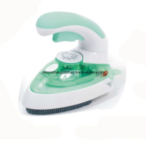 Travelling Foldable Steam Iron with Brush