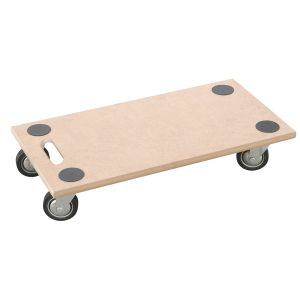 Different Size Platform Plywood Dolly Trolley pictures & photos