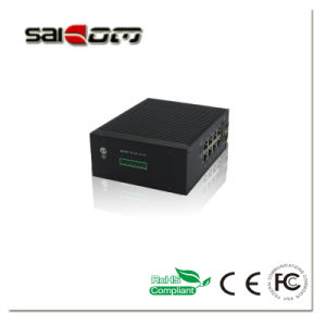 Saicom(SCSW-10082M) 100Mbps Smart 10pts 802.3 Industrial Managed Fiber Ethernet Switch from China pictures & photos