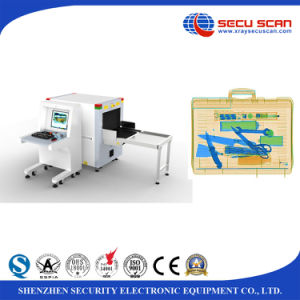 Dual Dirextion X-ray Baggage Scanner AT6040 for Exhibition use with CE Certificate pictures & photos