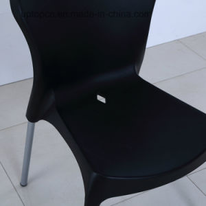 Plastic Chair with Beech Wood Leg for Outdoor Plastic Chair (SP-UC476) pictures & photos