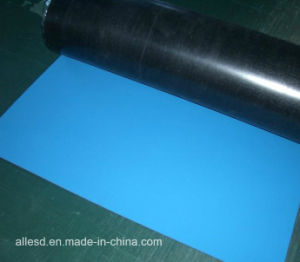 2 mm Anti-Slip Conductive and Antistatic Rubber Sheet / ESD Table Mat pictures & photos