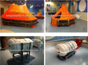 Davit Launched Inflatable Rubber Life Raft pictures & photos