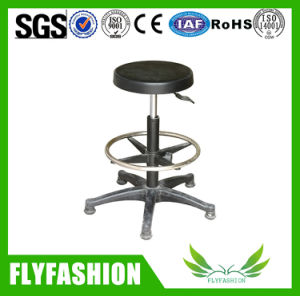 Lab PU Adjustable Chair Stools with Chrome Base Sf-07b pictures & photos