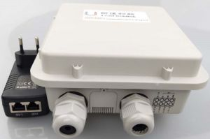 Two LAN Ports Outdoor 4G Industry Router with 2*2 4G/WiFi MIMO Antenna Supported Poe pictures & photos