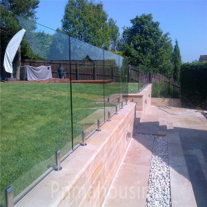 Outdoor Frameless Tempered Glass Railing pictures & photos