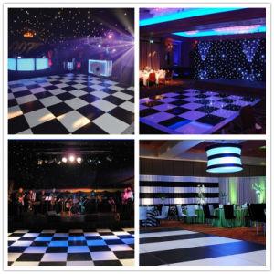 2017 Hot Sale Black and White Popular Party Dance Floor Wedding Dance Floor Tunes pictures & photos