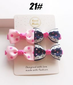 Wholesale Fashion Baby Hair Accessories Bowknot Hair Clip pictures & photos