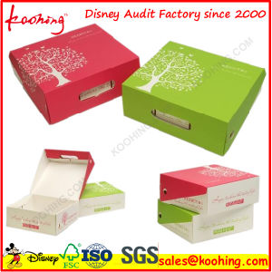 Corrugated Apple Packaging Box/ Corrugated Packaging Carton for Fresh Fruit pictures & photos
