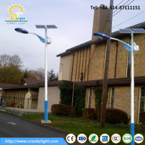 10m Pole Solar Street Light Installed in Niger pictures & photos