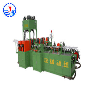 Automatic Paper Tube Vertical Hole-Digging & Head-Bending Machine pictures & photos