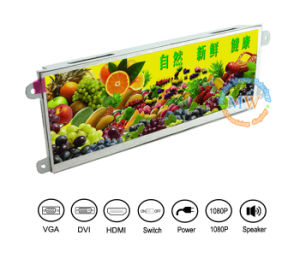 Ultra Wide Screen Open Frame 7.3 Inch LCD Monitor with Resolution 1280*400 (MW-075MH) pictures & photos