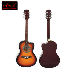 Small Size 38 Inch Colour Acoustic Practice Guitar for Kids pictures & photos