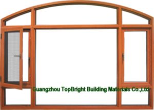Customized Color Swing Aluminum Composite Wood Window pictures & photos
