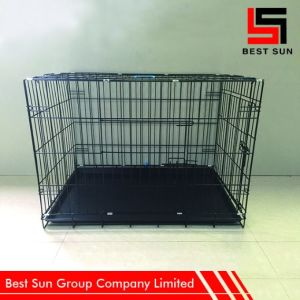 Folding Pet Cage, Dog Cage for Sale Cheap pictures & photos