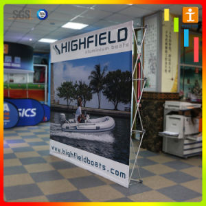 Pop up Stand Tension Fabric Display (tj-10) pictures & photos