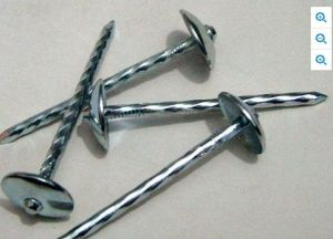 Umbrella Head Roofing Nail with Plain Shank pictures & photos