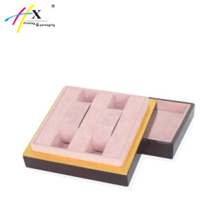 Hot Sale Luxury Plastic Jewelry Box Accept Custom Logo pictures & photos