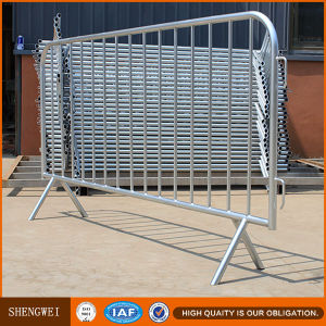 Hot Galvanized Crowd Control Metal Barrier Manufacturer pictures & photos