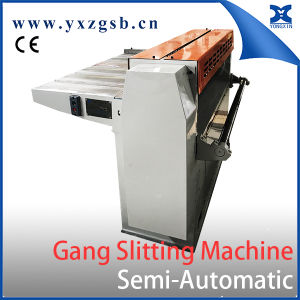 Semi-Auto Tinplate Slitter for Tin Can Making pictures & photos