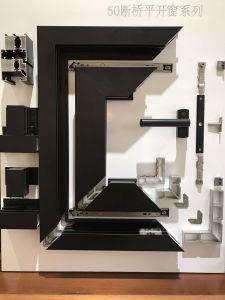 Double Color Thermal Break Aluminum Double Glass Window pictures & photos