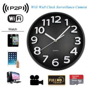 1080P Night Vision Nanny Wall Clock WiFi Camera Home Hidden Mini Camera pictures & photos