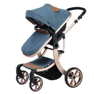 New Design European Luxury Fold Baby Pram with Ce pictures & photos