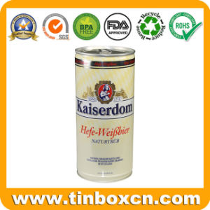 Easy-Open End 1L Beer Metal Tin Can with Ring Pull pictures & photos
