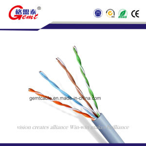 Bare Solid Network Cable Copper Conductor UTP Cat5 pictures & photos