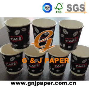 4/6/8/12 Oz Disposable Cup Paper with Customized Logo pictures & photos