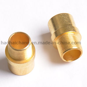 CNC Machine Brass Threaded Thumb Nut pictures & photos
