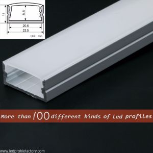 Pn4120 LED Linear Light Aluminium Profile/Channel/Extrusion for LED Strip pictures & photos