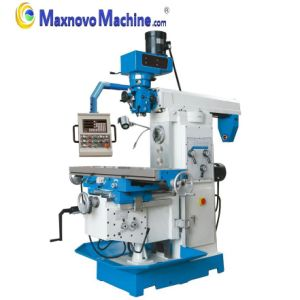 Heavy Duty Turret Milling Machine with Tilt-Able Cross Table (mm-MFM400) pictures & photos