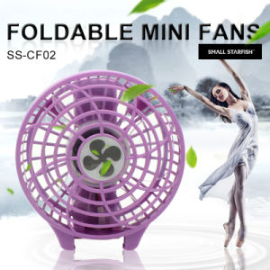 Summer Popular Electric Handheld Fold Rechargeable Fan pictures & photos