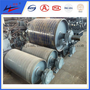 Conveyor Pulley with Rubber Lagging and PU Lagging Head and Tail Pulley pictures & photos