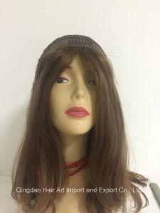 Kosher European Virgin Human Hair Silk Top Jewish Wig pictures & photos