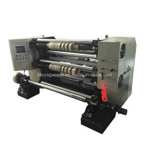 PLC Control Slitter Rewinder with 200 M/Min pictures & photos