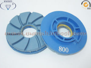 100mm Resin Cup Wheel with Snail Lock Diamond Tool Chamfering Wheel pictures & photos