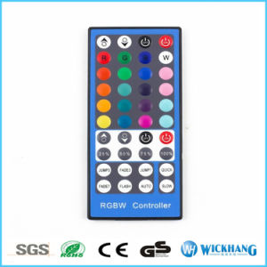 12V 2A RGBW Rgbww 40 Key Wireless IR Remote Controller for 5050 LED Strip Light pictures & photos