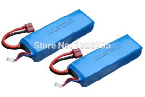 2PCS High Quality Flying 3D Flying3d X8 Fy-X8-014 11.1V 2200mAh Lipo Battery for 6-Axies RC Quadcopterg pictures & photos