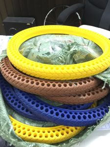 Solid Rubber Bike Tires pictures & photos