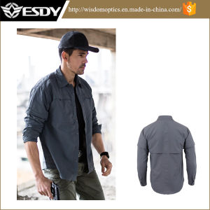 Esdy Breathable Quick-Drying Long-Sleeved Shirt for Outdoor pictures & photos