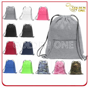 Promotional Multicolor Best Quality Cotton Drawstring Bag pictures & photos