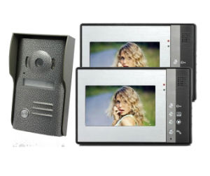 4 Wire Hand Free Video Door Phone with Intercom Function pictures & photos