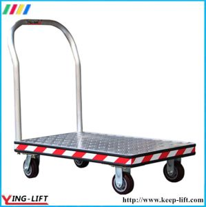 Aluminum Treadplate Model Platform Hand Truck pictures & photos