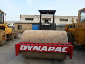 -Single-Drum Used 10ton Dynapac Ca25D Road Roller-Aircooled-Deutz-Engine 12/25ton-Vibrating-Capacity Smooth pictures & photos