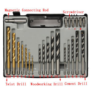 24PCS Popular Combination Drill Bit in Plastic Case pictures & photos