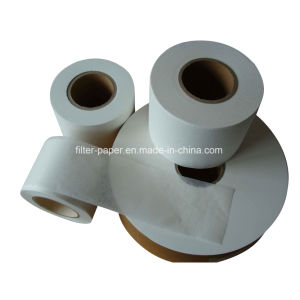 Factor Customized 125mm Width Roll Heat Seal Tea Bag Filter Paper pictures & photos