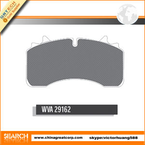 High Quality Wva 29162 Heavy Truck Brake Pad
